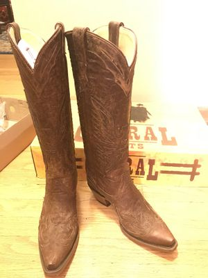 Corral brown leather woman's Cowboy boots NEW for Sale in Denver, CO