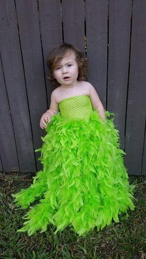 Gorgeous Handmade Boa Dress Fairy Dress Tinkerbell Dress Photography prop for Sale in Gulfport, FL