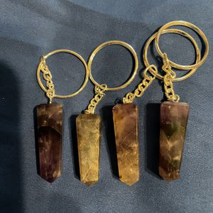 Amethyst Stone Key Chains for Sale in Stockton, CA