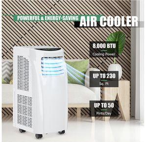 Costway 10000 BTU Portable Air Conditioner & Dehumidifier Function Remote w/ Window Kit for Sale in Boynton Beach, FL