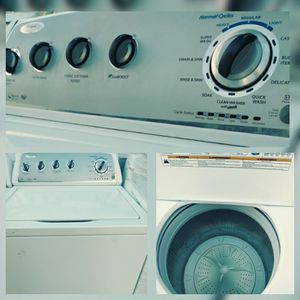 Washer whirpool topload for sale appliance repair sells and installation se habla EspAnol for Sale in Mesa, AZ