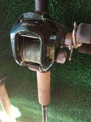 Curado fishing reels and rods for Sale in Murrieta, CA