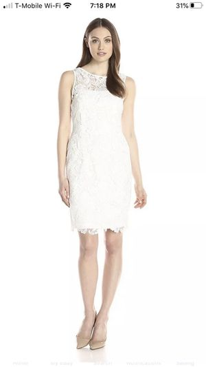 Adrianna Papell Women's Illusion Neckline Lace Dress for Sale in Las Vegas, NV