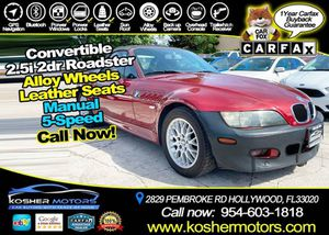 2001 BMW Z3 for Sale in Hollywood, FL
