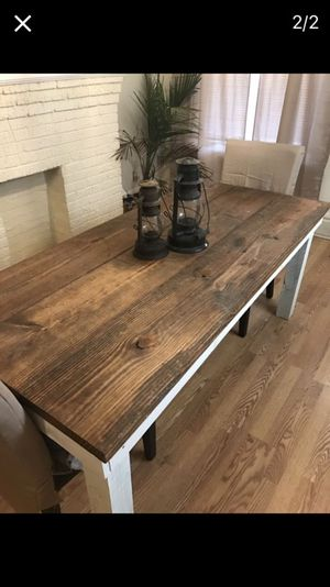 Dining table. Made to order. for Sale in Columbus, OH