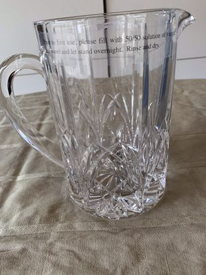 New Marquis by Waterford crystal pitcher for Sale in Bellevue, WA