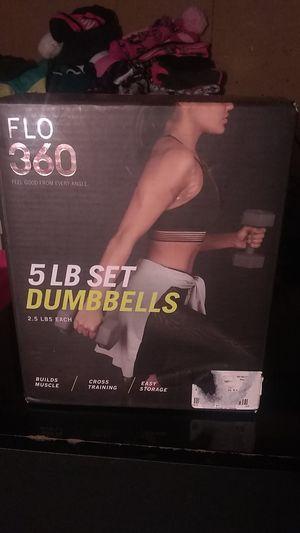 5 LB set dumbbells for Sale in Everett, WA
