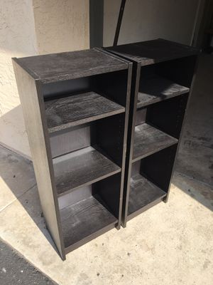 Bookcases (black) for Sale in CA, US