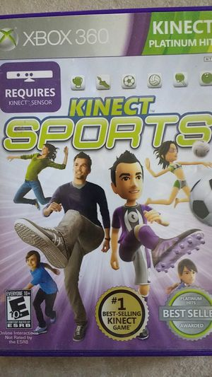 Kinect sports games Xbox 360 for Sale in Laveen Village, AZ