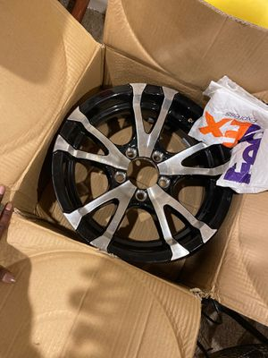Brand new 15inch rims!!! Full set all 4 rims for Sale in Washington, DC