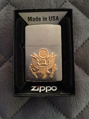 Zippo with U.S. Army Emblem for Sale in Concord, CA