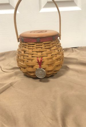 2004 Tournament of Roses Longaberger basket for Sale in Providence, KY