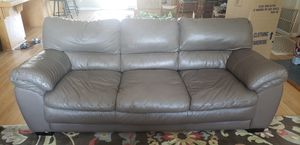 Brown couch, chair, ottoman for Sale in Coarsegold, CA