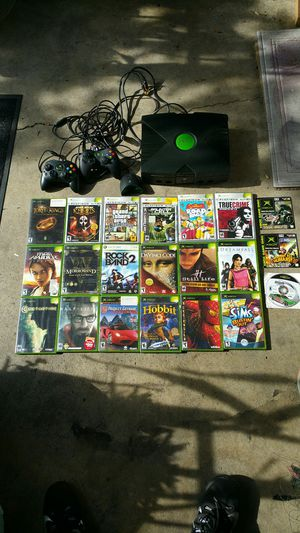 Original Xbox plus games for Sale in Lodi, CA