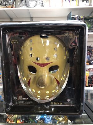 Friday the 13th Part 3 Jason Voorhees Hockey Mask NECA Reel Toys for Sale in La Habra, CA