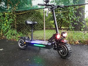 Electric scooter fastest one 60 mph trade sell ebike bicycle e full suspension watt for Sale in Bloomfield, NJ