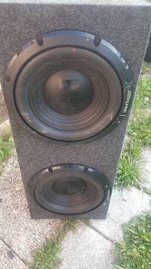"Alpine speaker 12"" for Sale in Boynton Beach, FL"