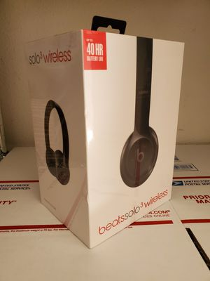 BEATS SOLO 3 BLUETOOTH HEADPHONES for Sale in Houston, TX