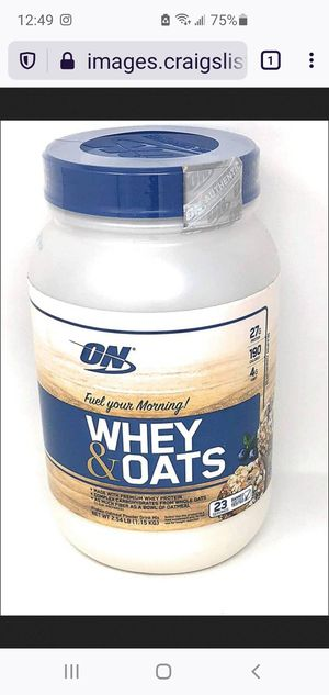 Protein Whey Oatmeal drink mix for Sale in Arlington, VA