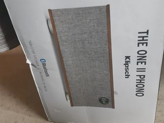 I Have A BRAND NEW Klipsch Bluetooth THE ONE II PHONO!! for Sale in Portland,  OR
