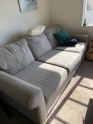 Grey Couch for Sale in Santa Ana, CA