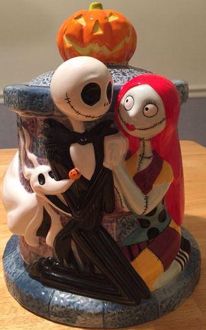 """Nightmare Before Christmas Jack Skellington Sally Zero 11"""" Cookie Jar for Sale in Lake Ridge, VA"""