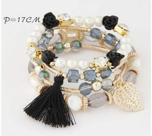 Beautiful Black multiple bracelet for Sale in East Haven, CT