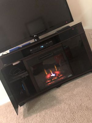 Electric Fireplace/Bluetooth Stand for Sale in Raleigh, NC