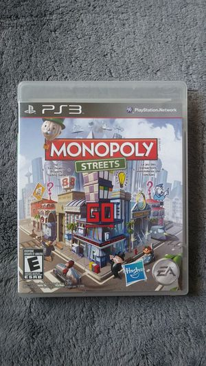 Ps3 monopoly streets for Sale in Stanton, CA