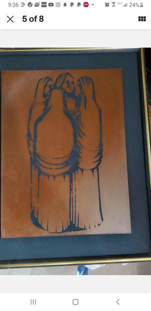 Francisco Dosamantes original copper art Mexican for Sale in Los Angeles, CA