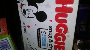 Huggies snug n dry 112 count size 2 for Sale in Edgemoor, DE
