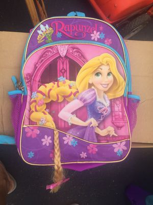 rapunzel backpack for Sale in Cambridge, MA