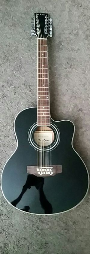 Brand New Black 12 String Guitar for Sale in Mt. Juliet, TN