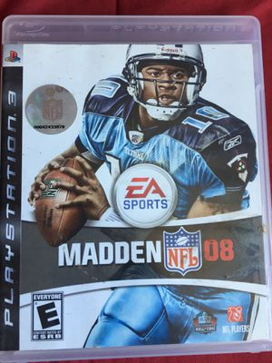 Madden 08 for PS3 for Sale in San Diego, CA