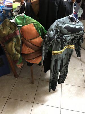 Boys Halloween costumes Batman ninja turtle for Sale in Spring Hill, FL