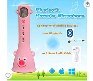 Wireless Karaoke Microphone for Kids, for Sale in Philadelphia, PA
