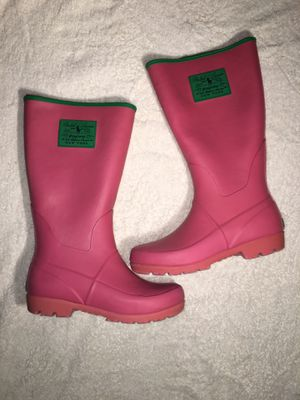 Girls Ralph Lauren rain boots for Sale in Madera, CA