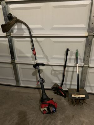 Troy Bilt Weed Trimmer with Edger and Tiller for Sale in Martinsburg, WV