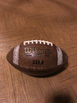 Used Wilson football but is still in a new condition. for Sale in Rockville, MD