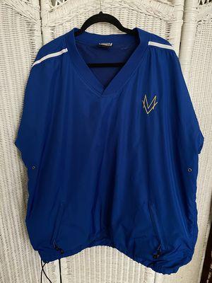 Vintage Easton Mens Windbreaker Baseball Batting Cage Pullover Jacket Size M for Sale in San Antonio, TX