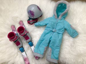 American girl doll skiing set for Sale in Hollywood, FL