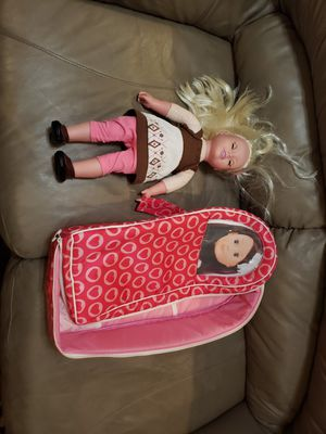 Doll with case for Sale in Westminster, CA