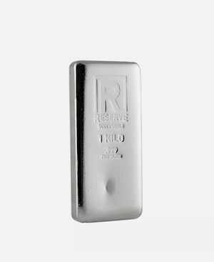 1 Kilo .999 Fine Silver Bar for Sale in Glendale, CA