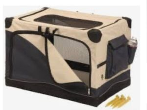 Travel collapsible dog crate - medium size for Sale in Winchester, CA