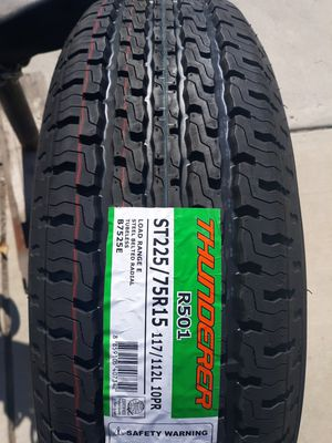 New! Trailer Tires ST 225/75R15 E Range for Sale in Anaheim, CA
