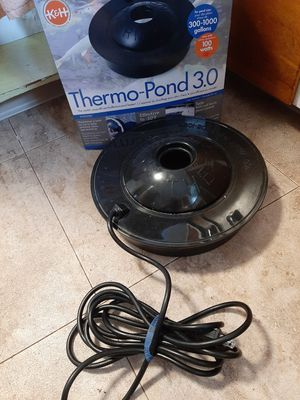 Thermo-Pond 3.0 Pond Heater for Sale in Endicott, NY