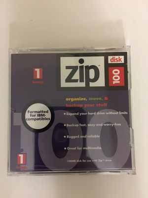 ZIP Disk 100MB for Sale in Potomac, MD
