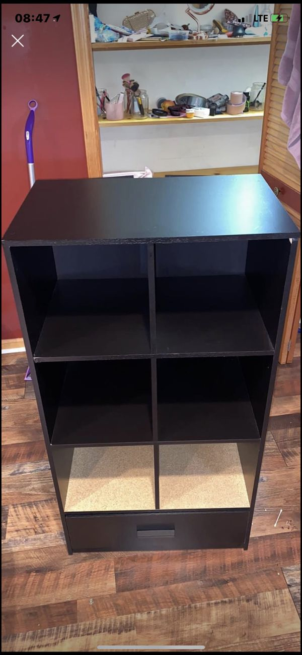 6 cube organizer with drawer
