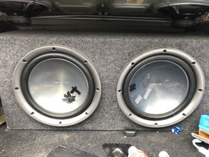 10 inch Kenwood Subwoofers for Sale in Rexburg, ID