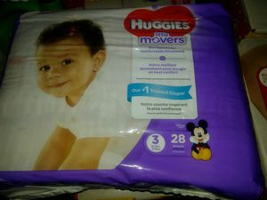 Huggies lil movers size 5 for Sale in Ontario, CA